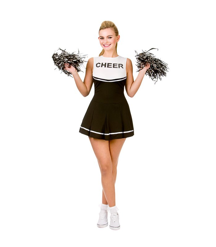 High School Cheerleader - Black (S)