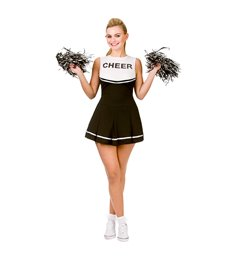 High School Cheerleader - Black (XS)