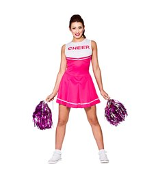 High School Cheerleader - Pink (XS)