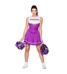 High School Cheerleader - Purple (L)