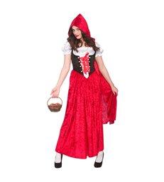 Deluxe Velvet Red Riding Hood (S)~