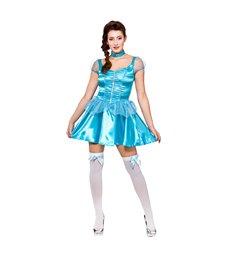 Ice Blue Princess (short) (XS)~