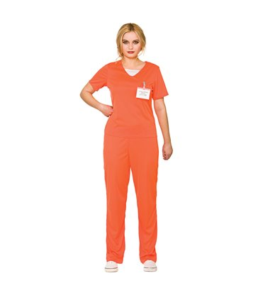 Orange Convict - Female (XL)