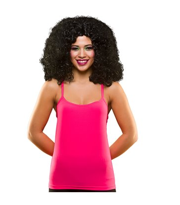 80's Neon Vest Top - Pink (XS/S)
