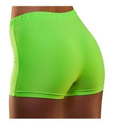 80's Neon Hot Pants - Green (XS/S)
