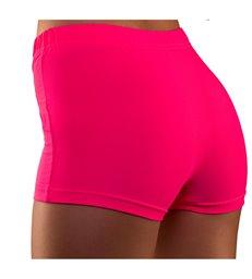 80's Neon Hot Pants - Pink (XS/S)