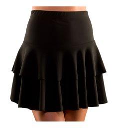 80's Ra Ra Skirt - Black (M/L)