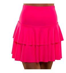 80's Neon Ra Ra Skirt - Pink (XS/S)