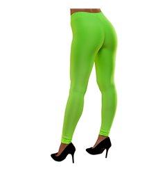 80's Neon Leggings - Green (M/L)