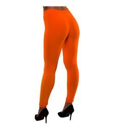 80's Neon Leggings - Orange (M/L)