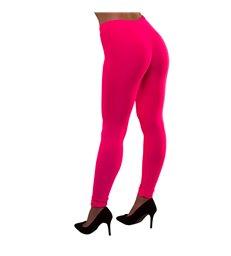 80's Neon Leggings - Pink (M/L)