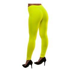 80's Neon Leggings - Yellow (M/L)