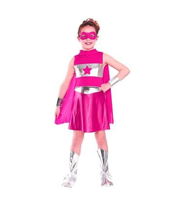 Super Hero - Pink (8-10)