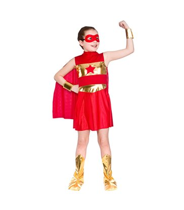 Super Hero - Red (8-10)