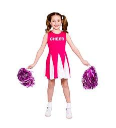 Girls Cheerleader  - Hot Pink (5-7)