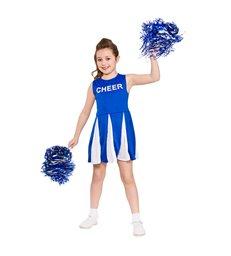 Girls Cheerleader  - Blue (3-4)