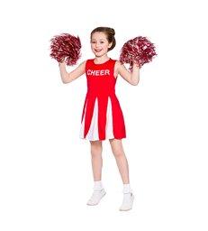 Girls Cheerleader  - Red (8-10)