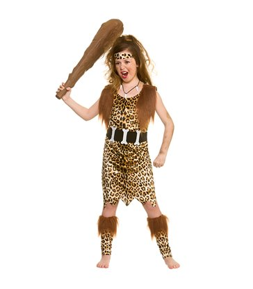 Stone Age Cave Girl (8-10)
