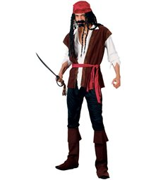 Caribbean Pirate (Deluxe) (M)