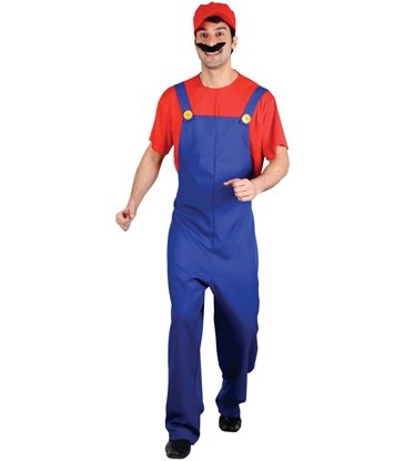 Funny Plumber - Red (M)