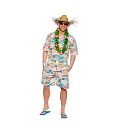 Hawaiian Party Guy - Pink Floral