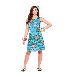 Hawaii Dress - Short Orchid Ocean (L)