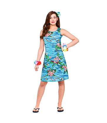 Hawaii Dress - Short Orchid Ocean (L)