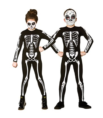 Skeleton Jumpsuit (Unisex) (8-10)