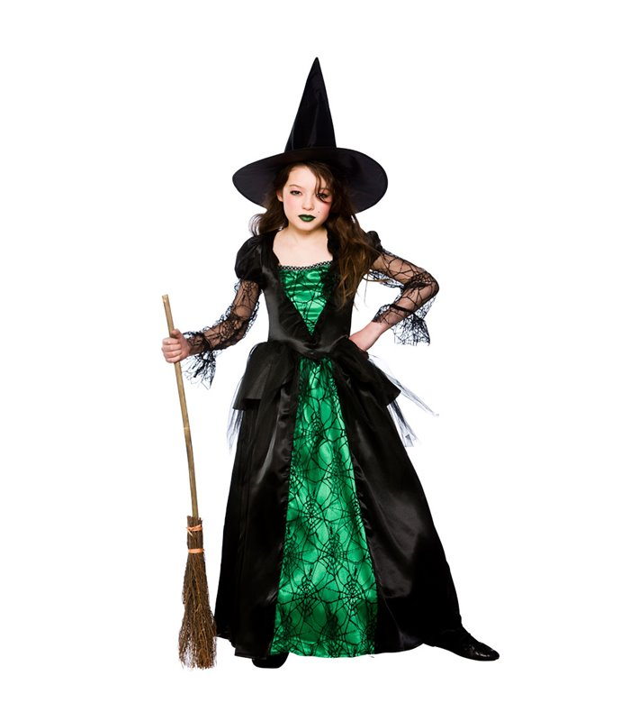 Deluxe Emerald Witch (8-10)