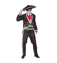 Deluxe Mariachi - Day of the Dead(M) (NO HAT)