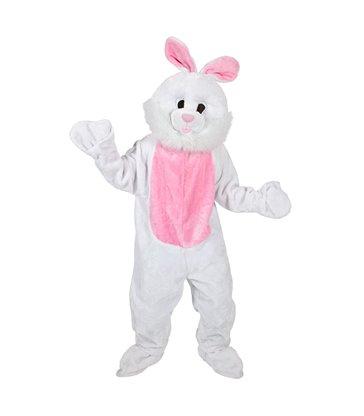 Giant Mascot - White Bunny