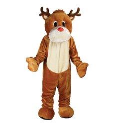 Giant Deluxe Mascot - Rudolf Reindeer
