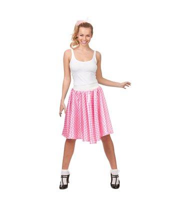 50's Retro Skirt - Pink