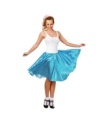 50's Retro Skirt - Blue