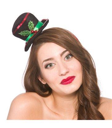 Mini Snowman hat on Headband (min 12)
