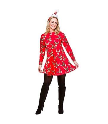 Christmas Dress - Reindeer