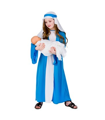 Mary Nativity Costume (5-7)