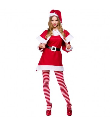 Mrs Santa (Adult One Size)