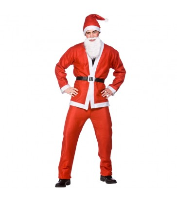Santa Suit 5pc (Adult One Size)