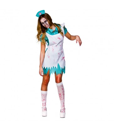 Bloodthirsty Zombie Nurse (L)