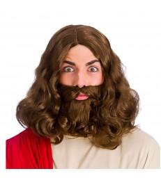 Jesus (Wig & Beard)