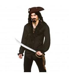 Pirate Shirt - Black (M)