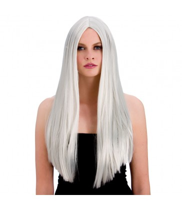 Classic Long Silver Wig