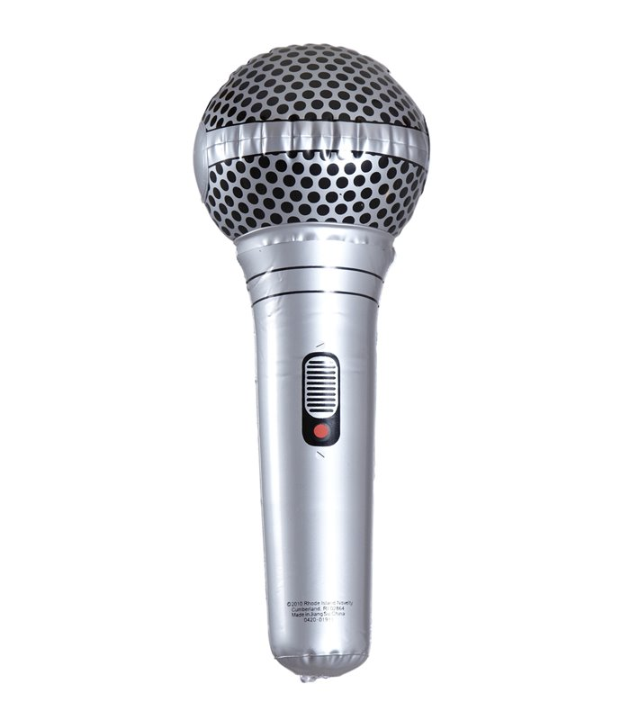 INFLATABLE MICROPHONE 25cm