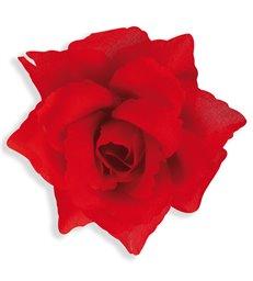 RED ROSE HAIRCLIP