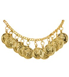 ANKLETS WITH GOLD COINS