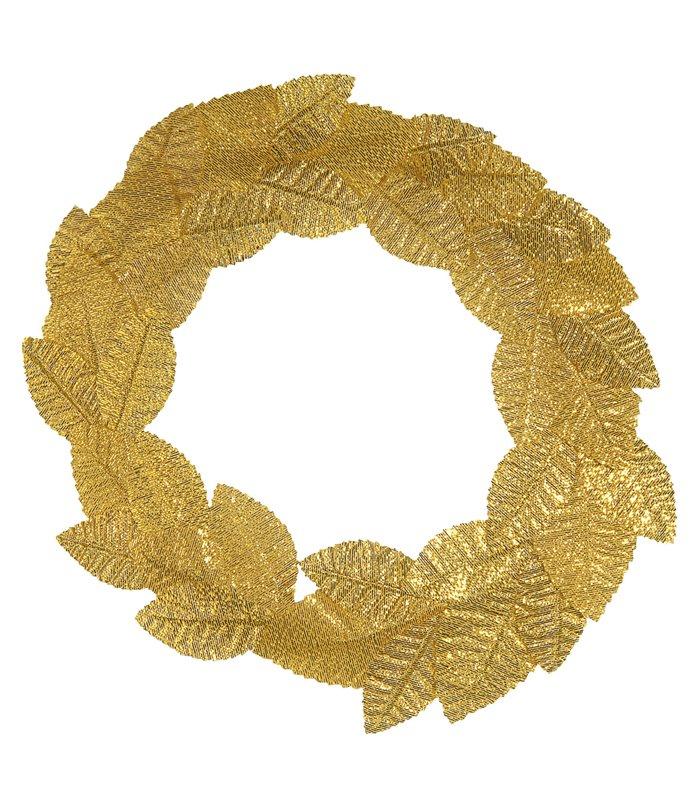 ROMAN LAUREL HEADBAND GOLD