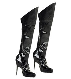 BOOT COVERS BLACK