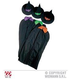 WITCH SET - 3 colours (cape hat)