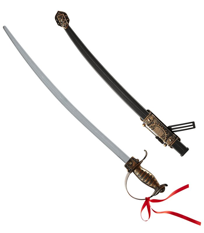 OLD TIME ROYAL SWORDS W/ DECORATED SCABBARD 68cm